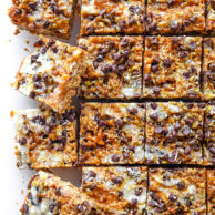 Caramel Seven Layer Bars | foodiecrush.com