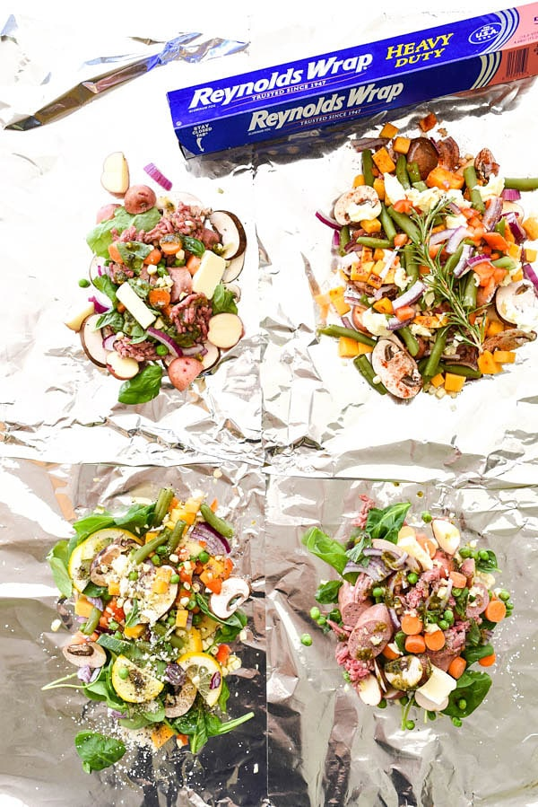 Easy DIY Foil Packet Dinners | foodiecrush.com