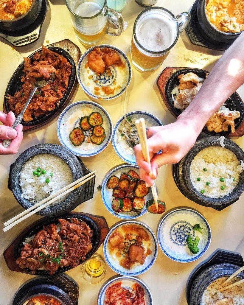 Korean dinner foodiecrush.com