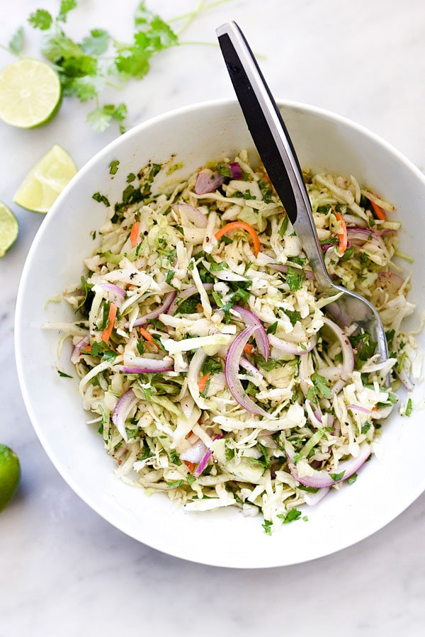 Easy mexican coleslaw recipe foodiecrush easy mexican coleslaw recipe easy healthy recipe nomayo foodiecrush forumfinder Choice Image