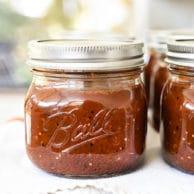 Smoky Roasted Tomato Salsa Recipe | foodiecrush.com