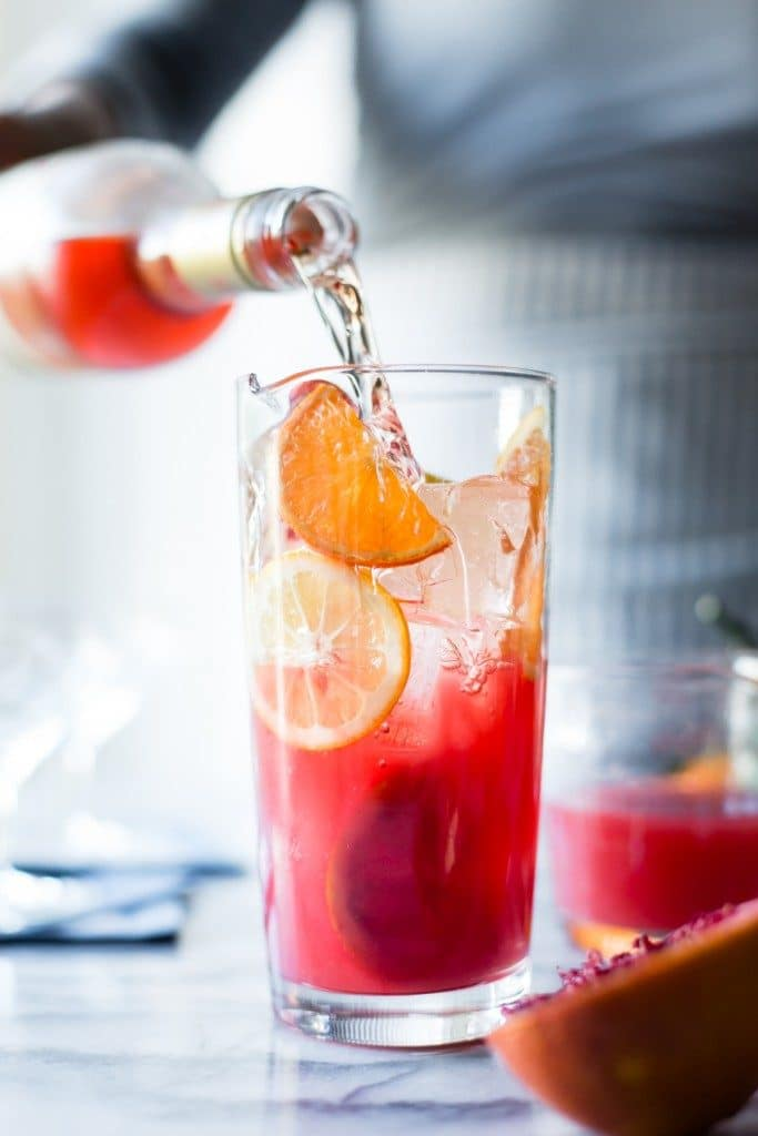 Sparkling Citrus, Lillet & Prosecco Punch from The Bojon Gourmet on foodiecrush.com
