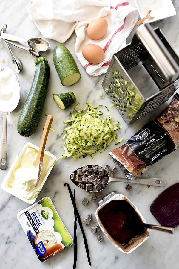 Double Chocolate Zucchini Bread Recipe | foodiecrush.com
