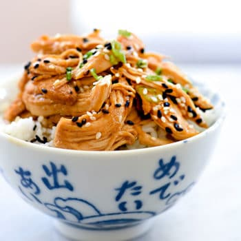 Slow Cooker Teriyaki Chicken | foodiecrush.com