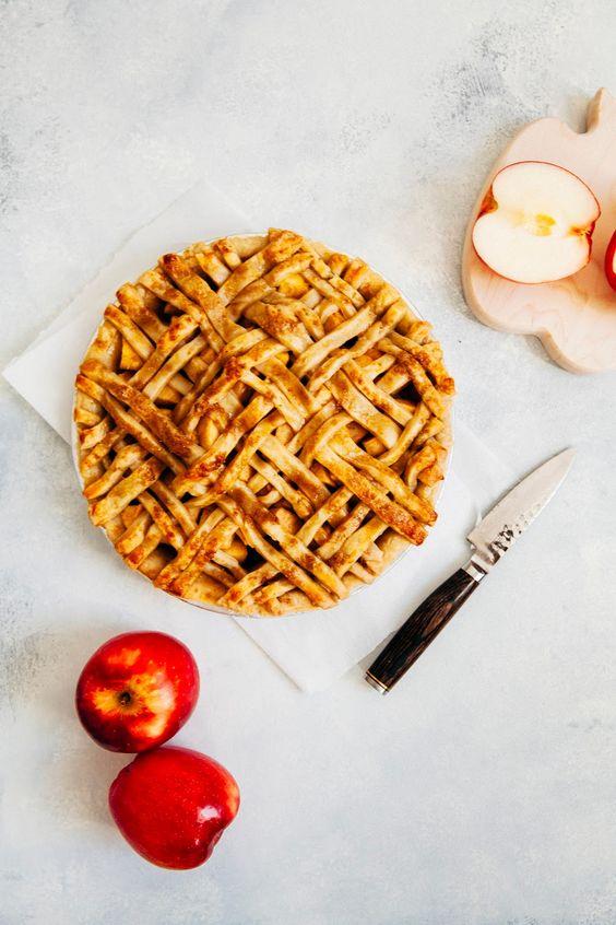 Bacon Apple Cheddar Pie from hummingbirdhigh.com on foodiecrush.com