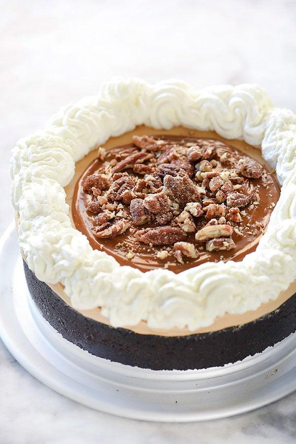 Dulce de Leche Pie | foodiecrush.com
