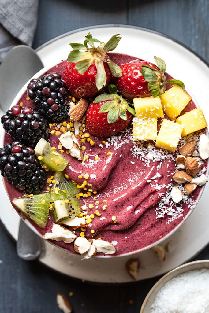 Acai Bowls from The Hungry Bite on foodiecrush.com