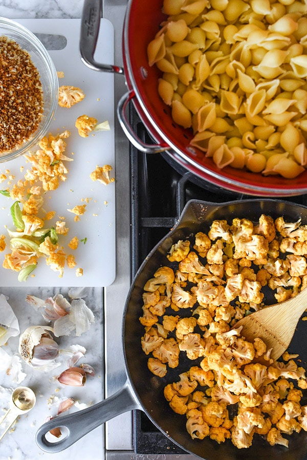 how to make mac and cheese with cauliflower
