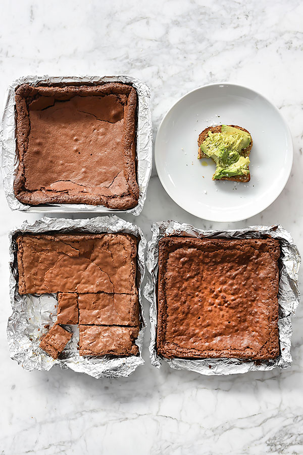 Classic Fat Witch Dark Chocolate Brownies Recipe | foodiecrush.com
