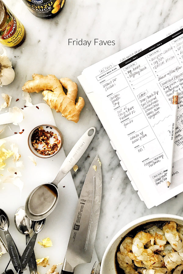 Friday Faves Nourished Planner | foodiecrush.com