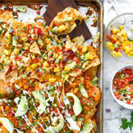 Game Day Nachos Two Ways | foodiecrush.com