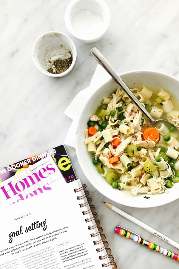 Nourished Planner foodiecrush.com