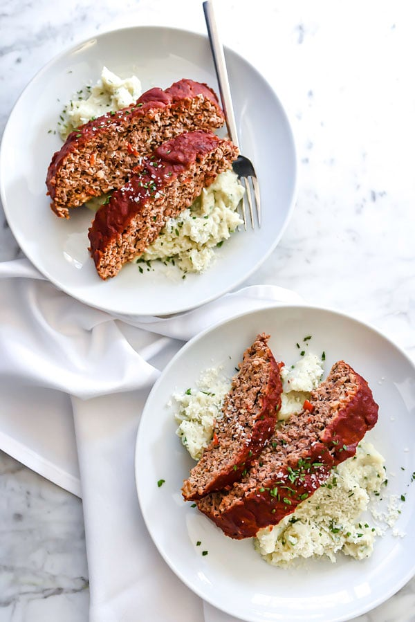 Healthier Turkey Meatloaf | foodiecrush.com