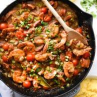 My Favorite Shrimp and Grits Recipe | foodiecrush.com