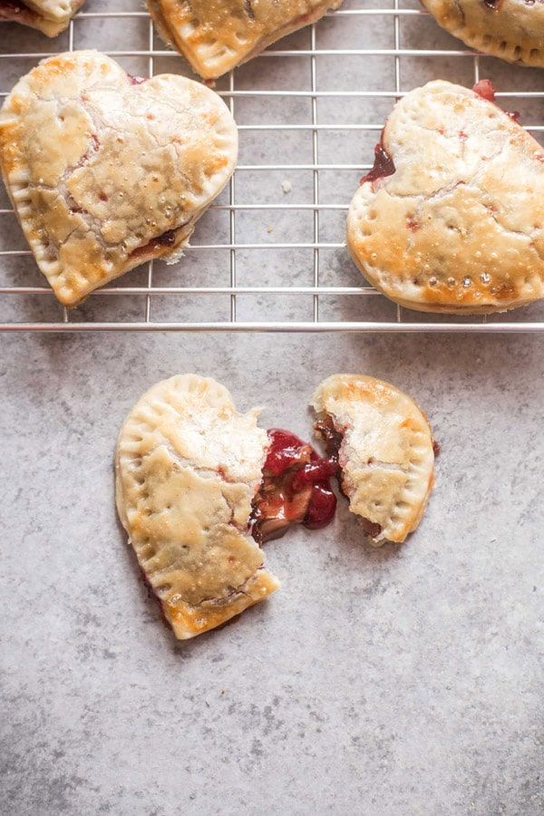 Strawberry Nutella Hand Pies from Inquiring Chef | foodiecrush.com