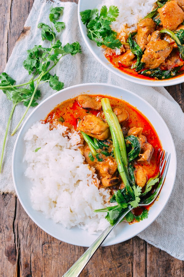 Red Curry Chicken from thewoksoflife.com on foodiecrush.com