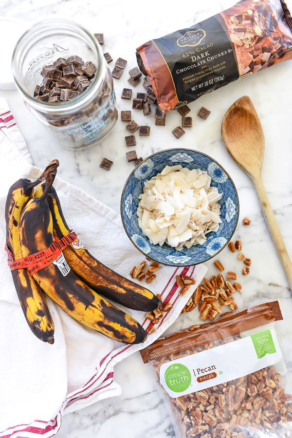 German Chocolate Banana Bread | foodiercrush.com
