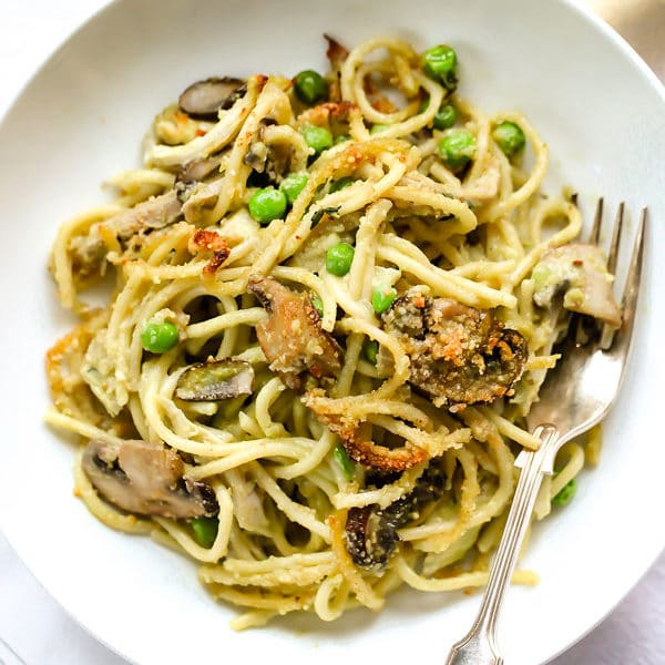Turkey Avocado Tetrazzini | foodiecrush.com