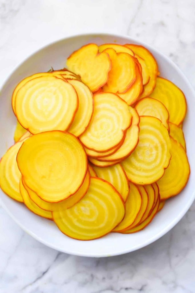How to Make Crispy Beet Chips   foodiecrush.com