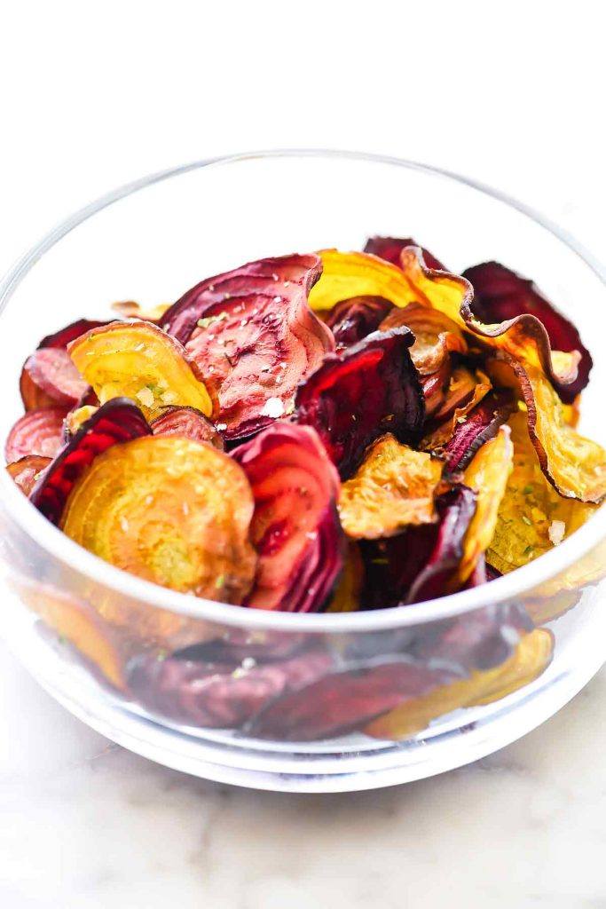 How to Make Crispy Beet Chips | foodiecrush.com