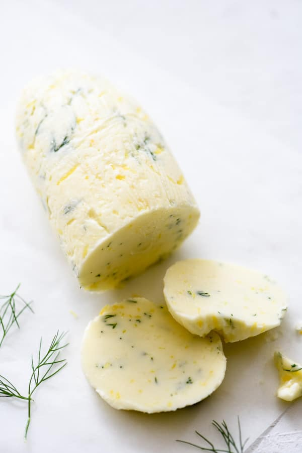 Lemon Dill Butter | foodiecrush.com