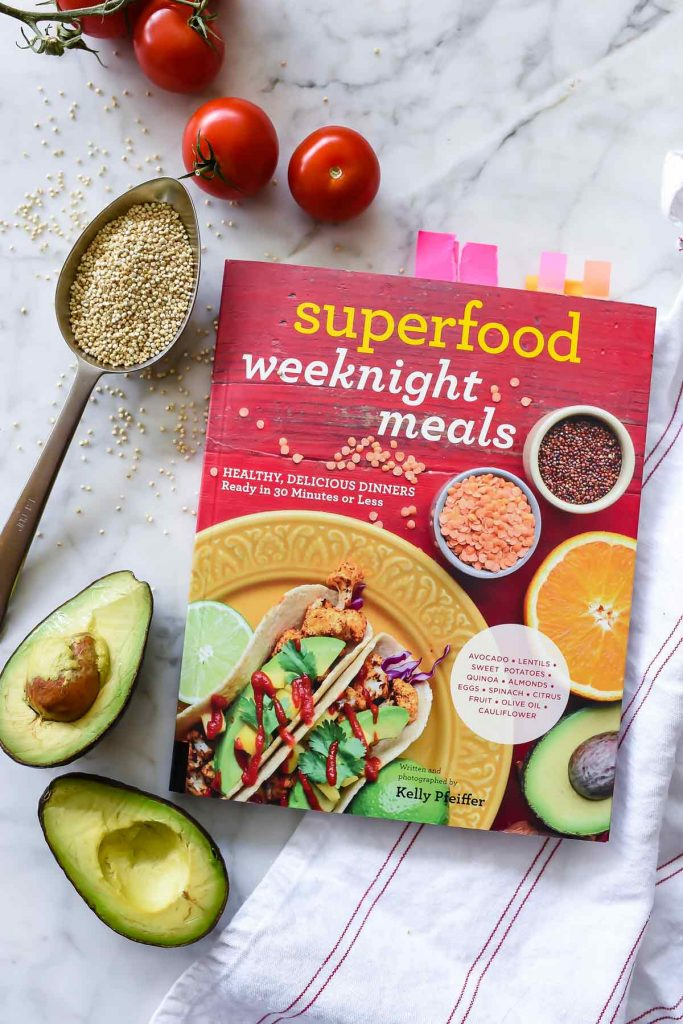 Superfood Weeknight Meals cookbook | foodiecrush.com
