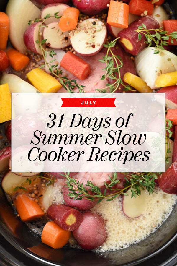31 Summer Slow Cooker Recipes To Make In July Foodiecrush Com