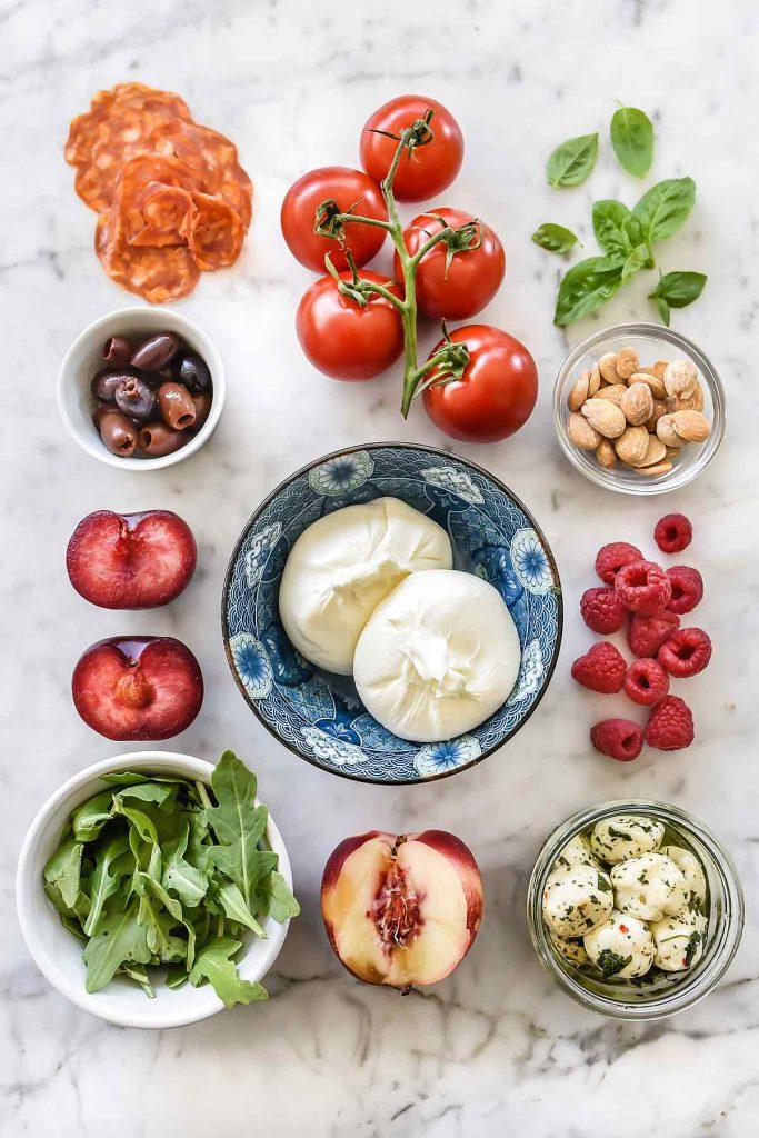 How to Make a Caprese Salad Platter | foodiecrush.com
