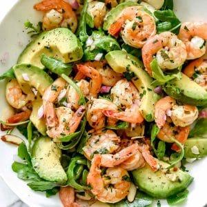 Citrus Shrimp and Avocado Salad
