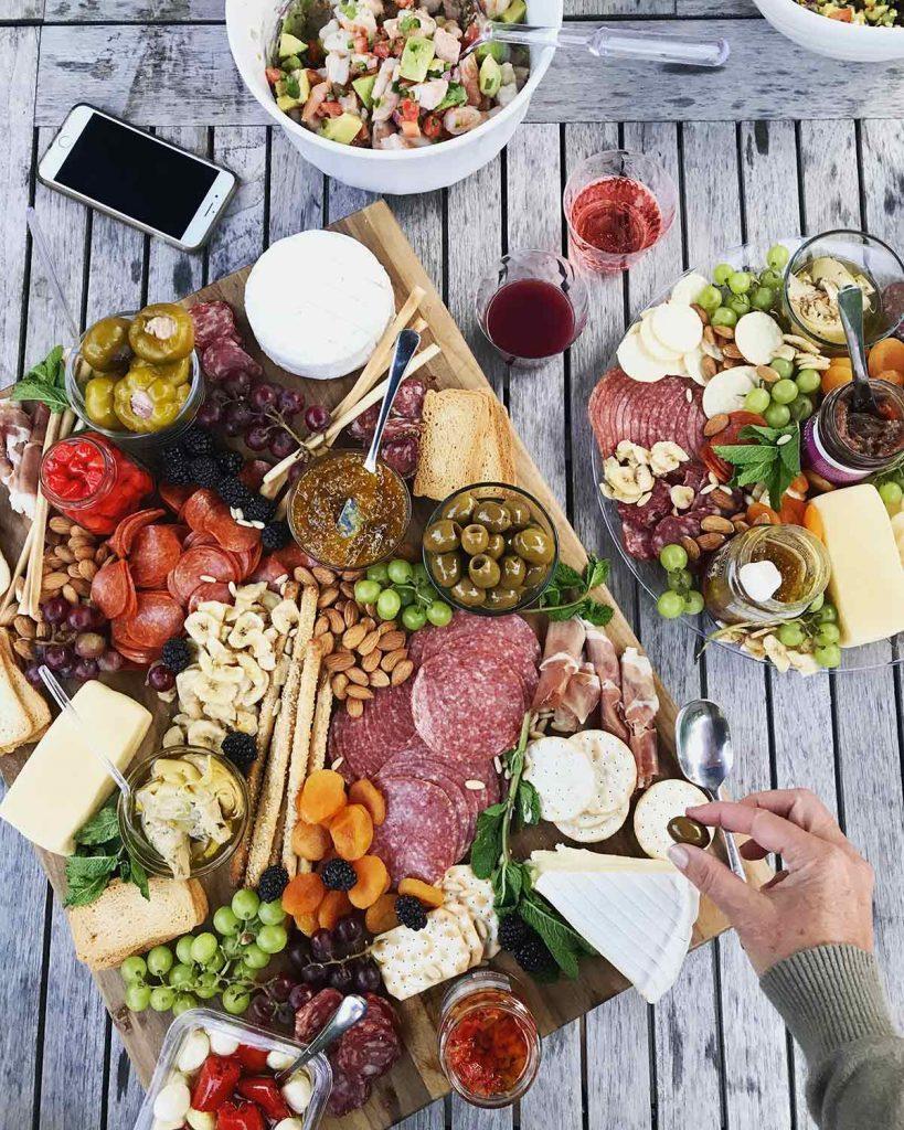 Delallo Cheese board foodiecrush.com