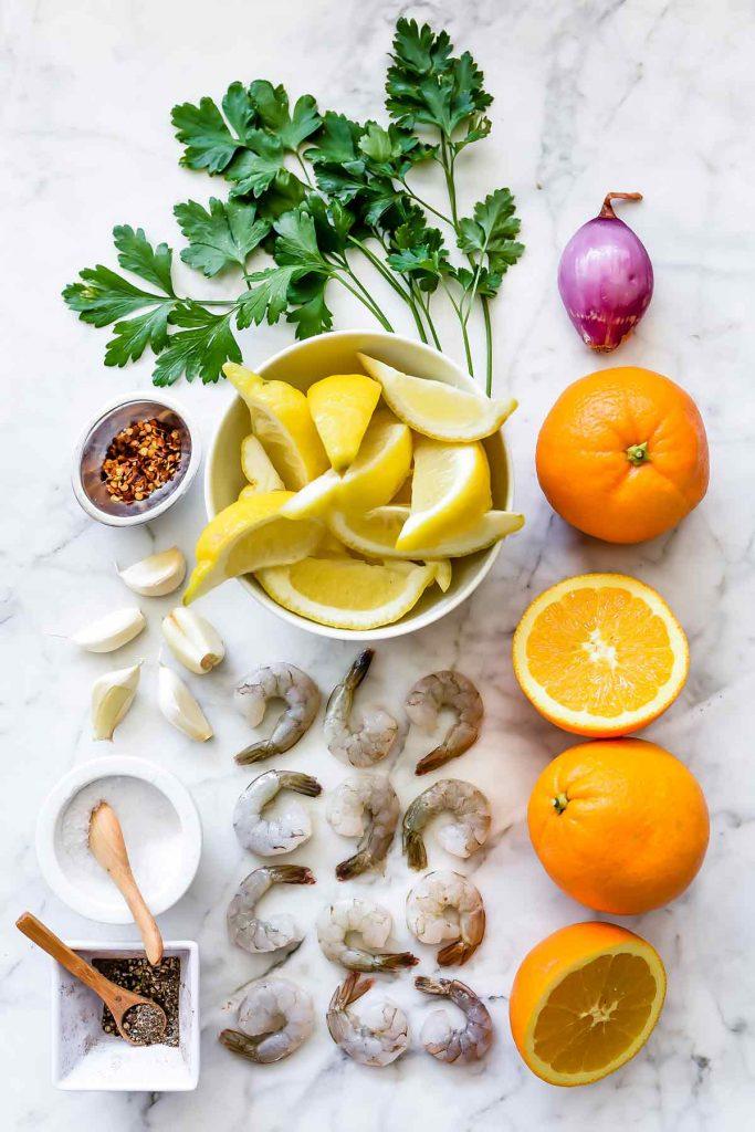 Pan-Seared Citrus Shrimp Recipe   foodiecrush.com