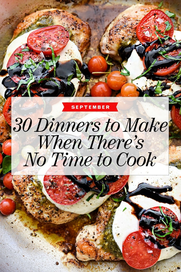 30 Dinners for September foodiecrush.com #dinner #recipe #quick #easy #fast #healthy #ideas #meals
