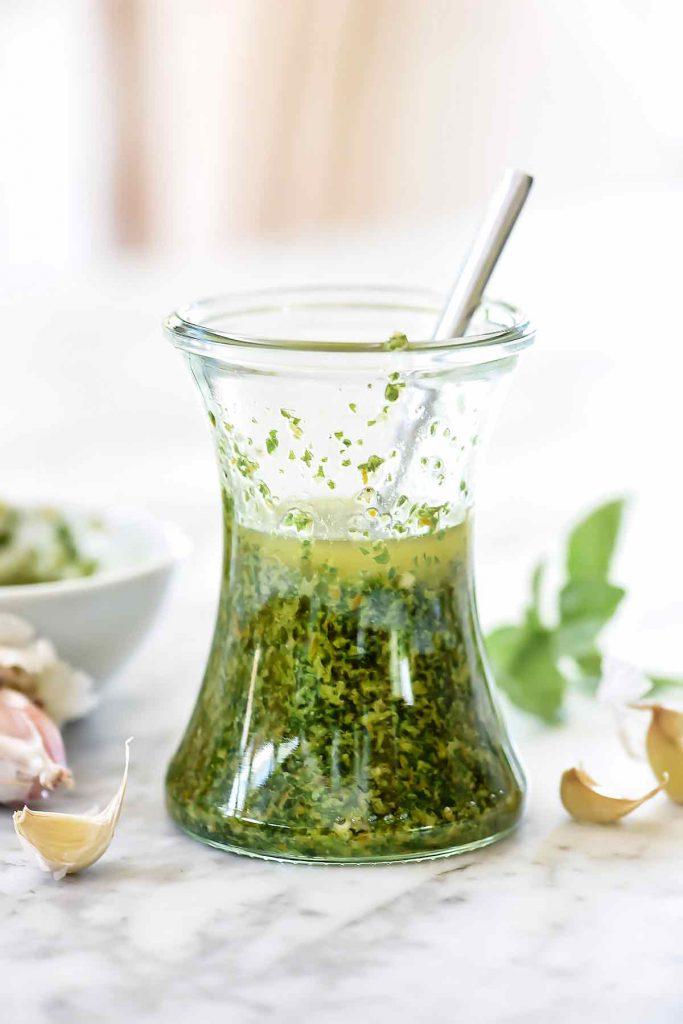 Asian Chimichurri Sauce | foodiecrush.com