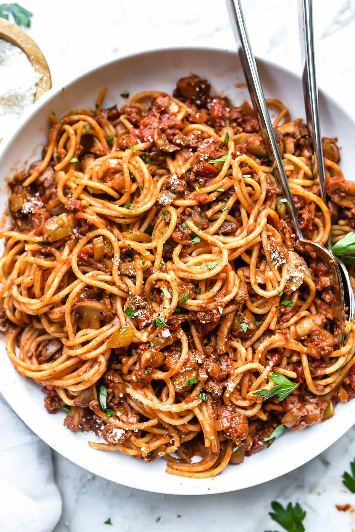 Mom's Homemade Spaghetti Recipe (& Meat Sauce ...