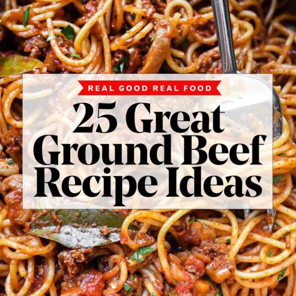 25 Great Ground Beef Recipes Ideas | foodiecrush.com