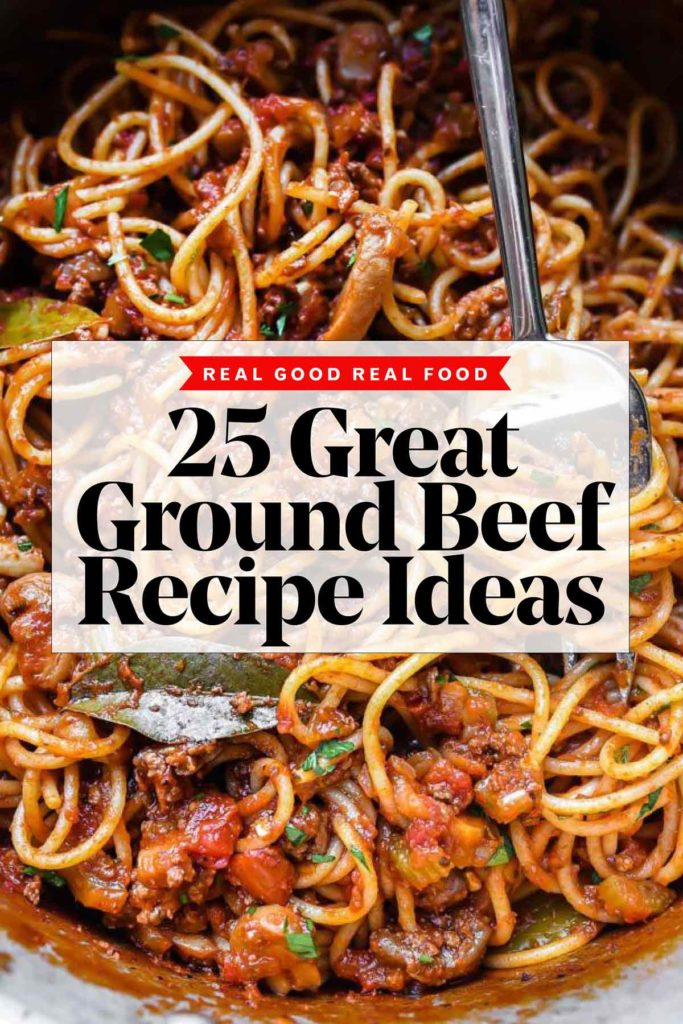25 Great Ground Beef Recipe Ideas | foodiecrush.com