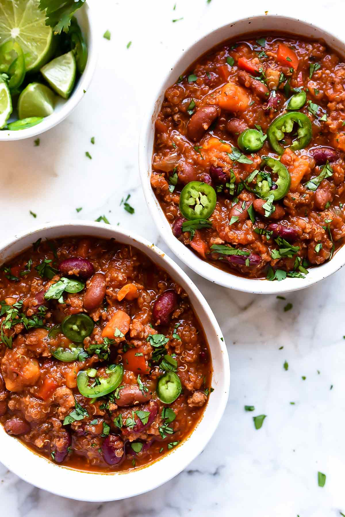 chili slow cooker cooker turkey sweet potato chili with quinoa 30927