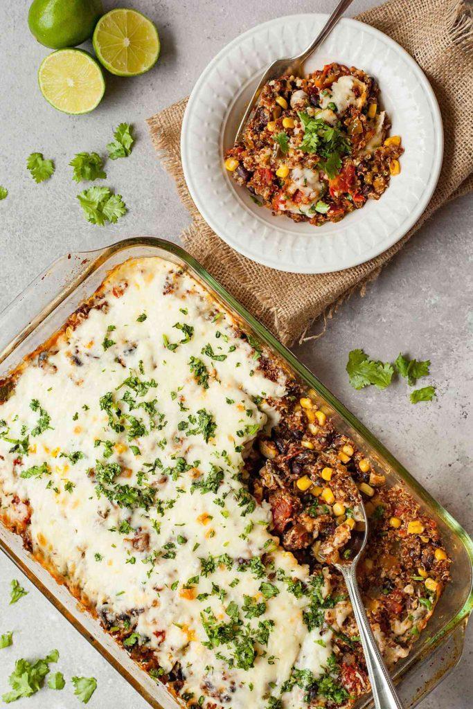 Crispy Quinoa Bake from theliveinkitchen.com on foodiecrush.com