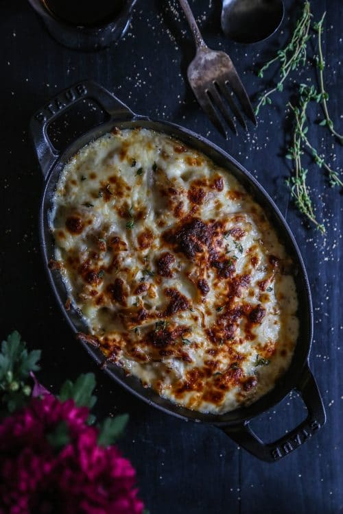 French Onion Gnocchi Casserole from climbinggrierfmountain.com foodiecrush.com