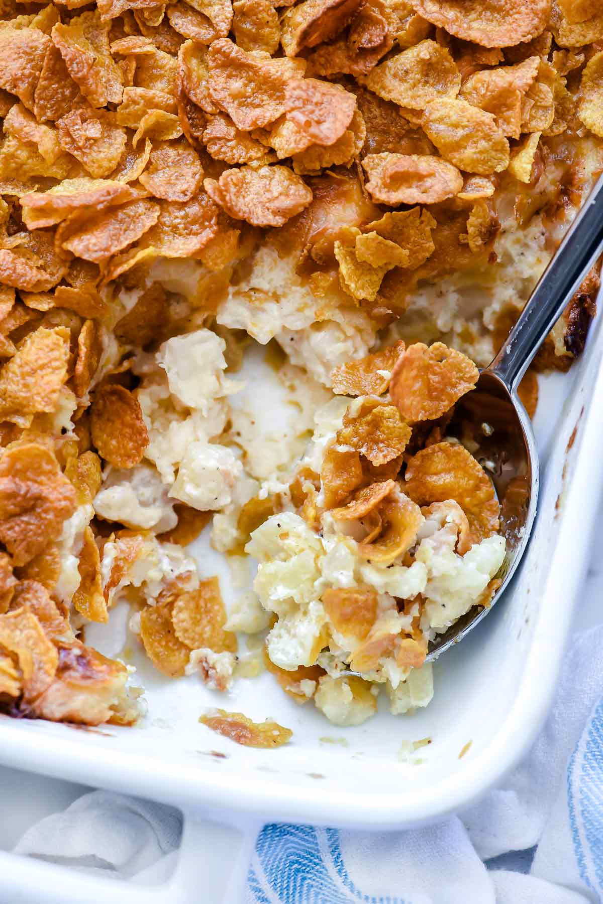 Heavenly Funeral Potatoes Recipe