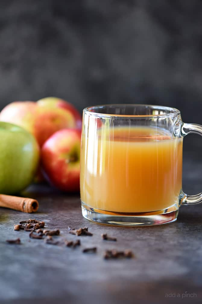 Homemade Apple Cider from addapinch.com on foodiecrush.com