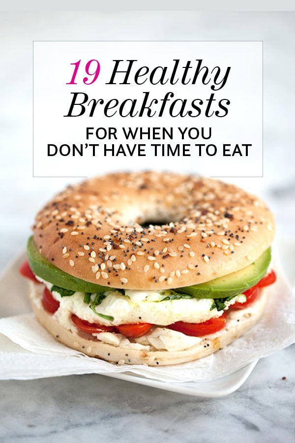 19 Healthy Breakfasts For When You Don't Have Time to Eat from foodiecrush.com on foodiecrush.com