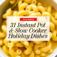 31 Instant Pot and Slow Cooker Recipes to Make for the Holidays | foodiecrush.com