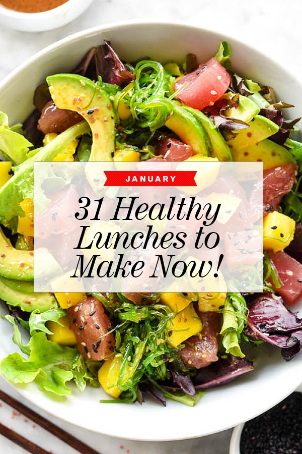 32 Healthy Lunches to Make Now | foodiecrush.com #healthy #lunch #recipes