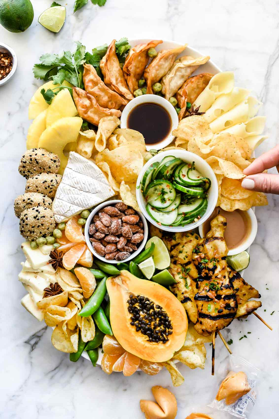 Perfect Asian Food Platter Ideas