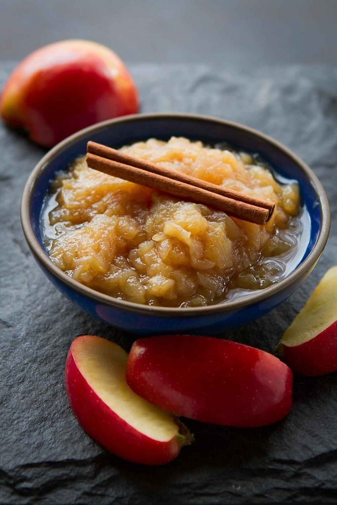Instant Pot Applesauce from cookincanuck.com on foodiecrush.com