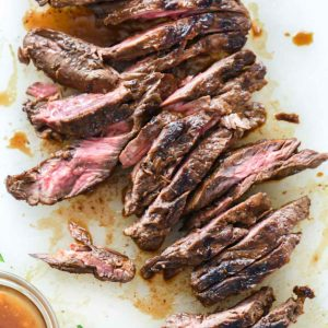 Asian Marinated Steak | foodiecrush.com #steak #asian #marinade