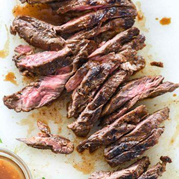 Asian Marinated Steak | foodiecrush.com #steak #asian #marinade