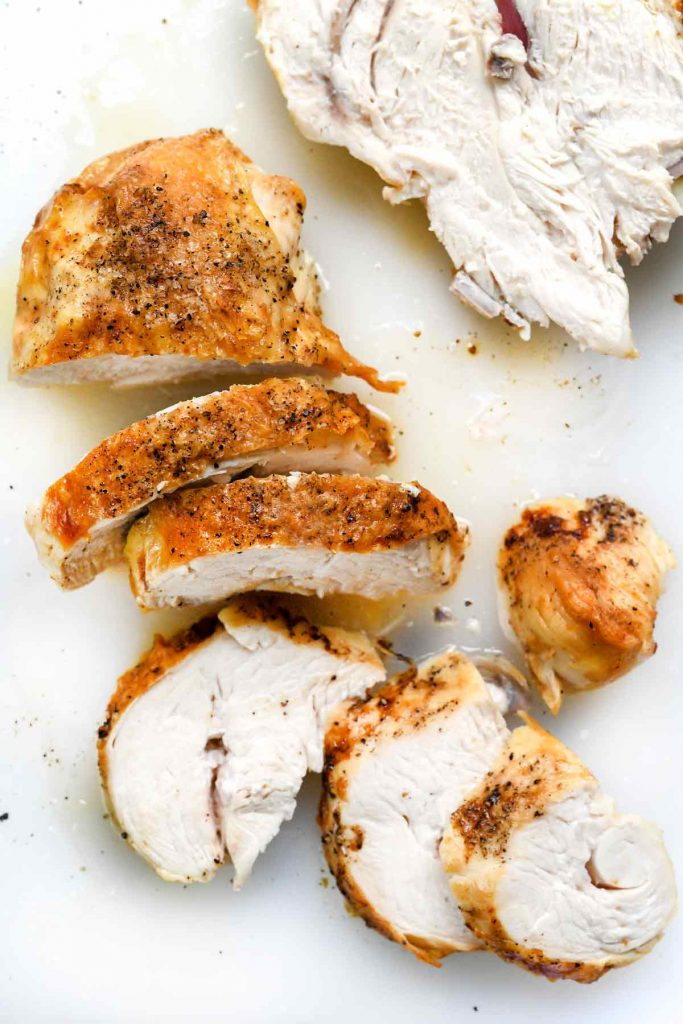 The Best Baked Chicken Breast | foodiecrush.com #chicken #breast #healthy #recipes #easy