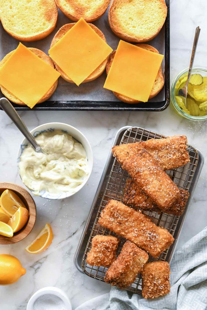 Healthier Fried Fish Sandwich 30 Minutes Foodiecrush Com